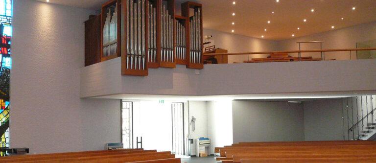 Pfarrei Bruder Klaus Urdorf Orgelempore