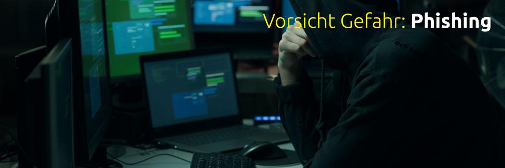 Phishing Teaserbild Artikel zum Thema Phishing