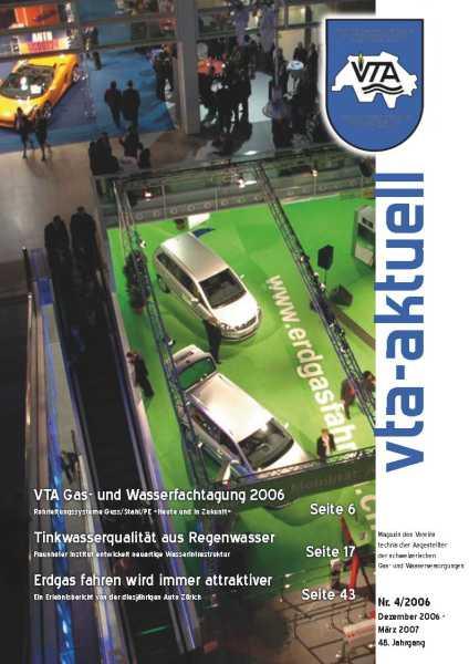 Titelbild des vta-aktuell, Ausgabe 2006-4