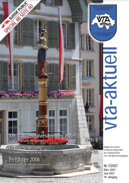 Titelbild des vta-aktuell, Ausgabe 2007-1