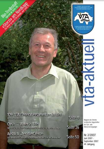 Titelbild des vta-aktuell, Ausgabe 2007-2