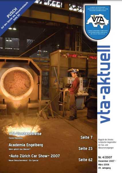 Titelbild des vta-aktuell, Ausgabe 2007-4