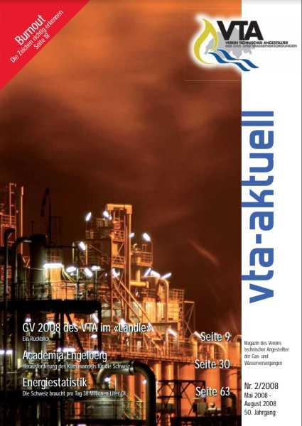Titelbild des vta-aktuell, Ausgabe 2008-2