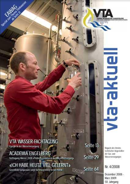 Titelbild des vta-aktuell, Ausgabe 2008-4