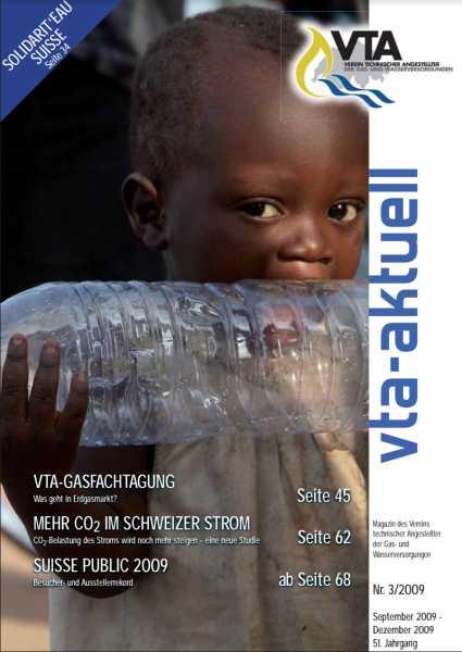 Titelbild des vta-aktuell, Ausgabe 2009-3