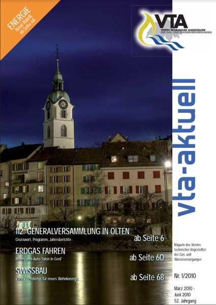 Titelbild des vta-aktuell, Ausgabe 2010-1