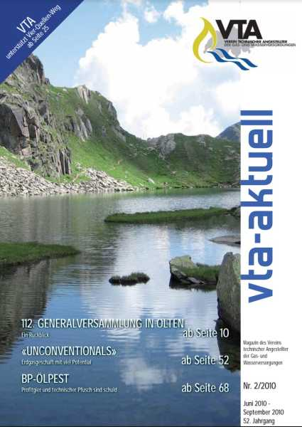 Titelbild des vta-aktuell, Ausgabe 2010-2