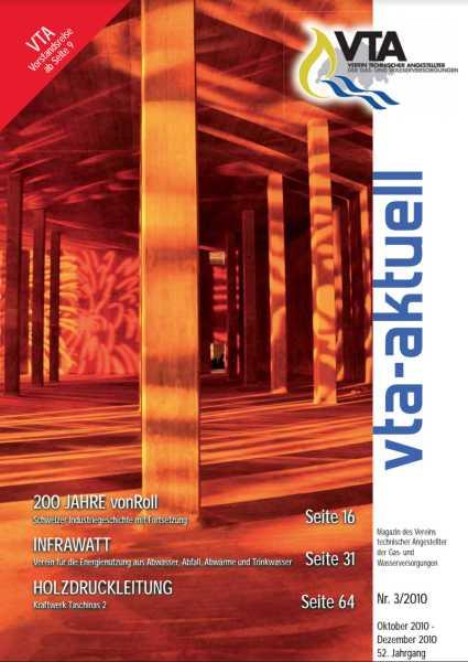 Titelbild des vta-aktuell, Ausgabe 2010-3