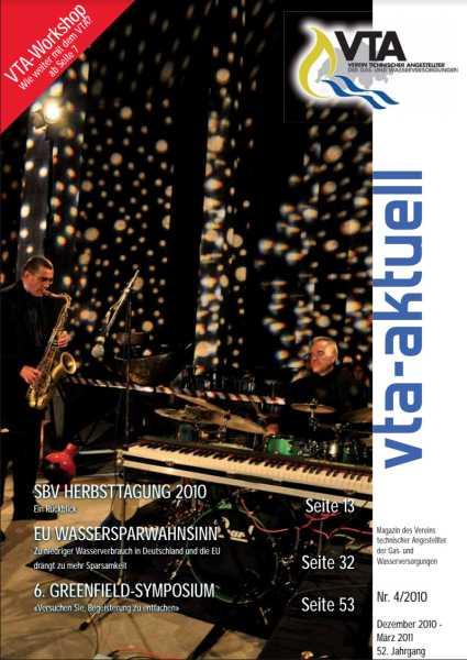 Titelbild des vta-aktuell, Ausgabe 2010-4