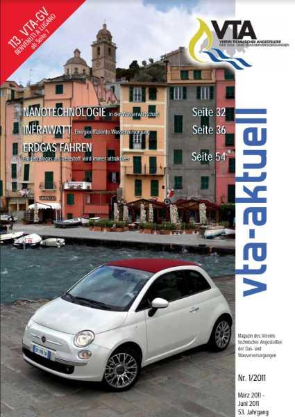 Titelbild des vta-aktuell, Ausgabe 2011-1