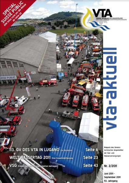 Titelbild des vta-aktuell, Ausgabe 2011-2