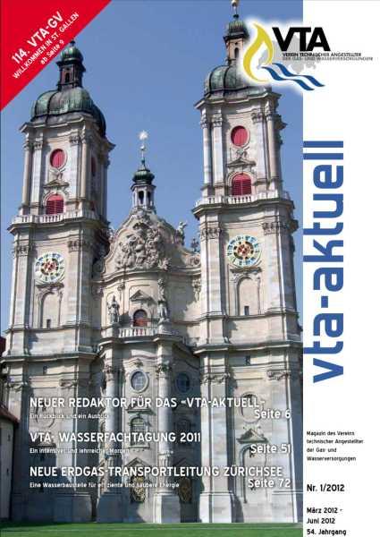 Titelbild des vta-aktuell, Ausgabe 2012-1