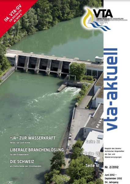 Titelbild des vta-aktuell, Ausgabe 2012-2
