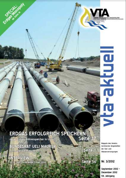 Titelbild des vta-aktuell, Ausgabe 2012-3