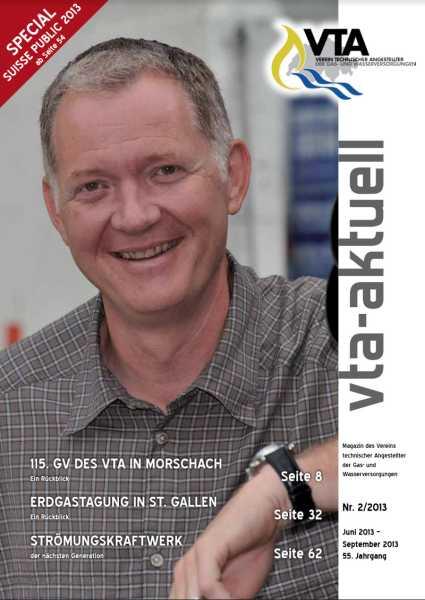 Titelbild des vta-aktuell, Ausgabe 2013-2