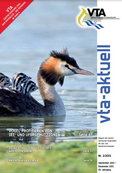 Titelbild des vta-aktuell, Ausgabe 2013-3