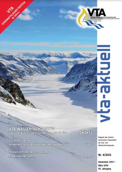 Titelbild des vta-aktuell, Ausgabe 2013-4
