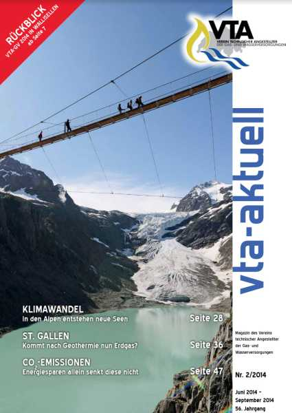 Titelbild des vta-aktuell, Ausgabe 2014-2