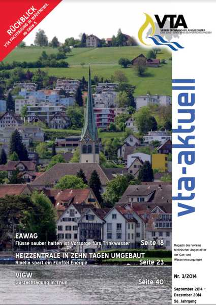 Titelbild des vta-aktuell, Ausgabe 2014-3