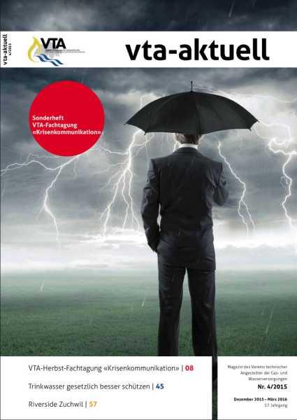 Titelbild des vta-aktuell, Ausgabe 2015-4
