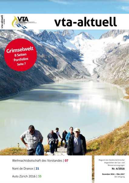 Titelbild des vta-aktuell, Ausgabe 2016-4