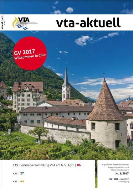 Titelbild des vta-aktuell, Ausgabe 2017-1