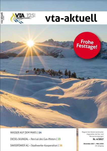 Titelbild des vta-aktuell, Ausgabe 2017-4